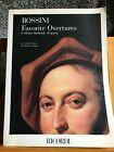 Rossini Favorite Overtures Ouvertures partition orchestre éditions Ricordi
