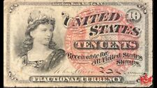1863 United-States 10 Cents Fractional Currency - VF - Fr#1257