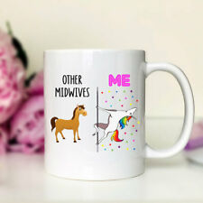 Other Midwives Me Unicorn Midwife Mug Midwife Gift Funny Midwife Mug Funny