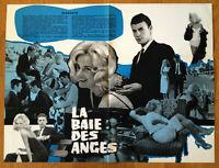 LA BAIE DES ANGES dossier de presse CINEMA film jeanne moreau jacques demy 1963