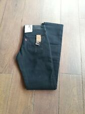 Levis 571 Damen Jeans W27 / L32 schwarz Neu!