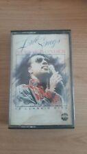 STEVIE WONDER  music cassette tape used LOVE SONGS 16 CLASSIC HITS