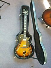 Ibanez GB10SE George Benson Signature Guitar - Brown Sunburst