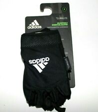 Adidas Climalite Ess Adjustable Size S Small Essential Gloves Black/White 12423