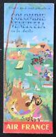 Brochure touristique AIR FRANCE COLOMBIE VENEZUELA Bayle dépliant Tourisme