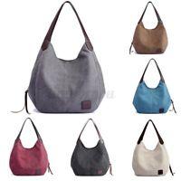 Women Canvas Handbag Travel Bag Shoulder Bags Casual Tote Messenger