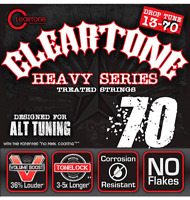 New Cleartone 9470 Heavy Series Electric Guitar Strings 13-70 Alt Tuning