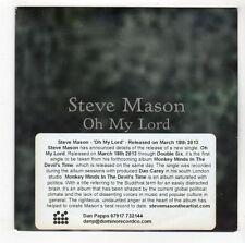 (GL127) Steve Mason, Oh My Lord - 2013 DJ CD