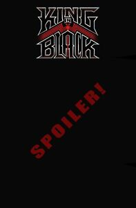 King in Black #3 (2021) Marvel Knull Spoiler Variant pre-order 01/20/2021