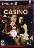 High Rollers Casino Sony PS2 PlayStation 2 2004