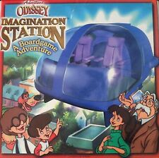 Imagination Station Adventures in Odyssey Board Game 1999 Family Faith Virtues