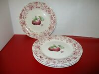 "Pfaltzgraff DELICIOUS Apples Stoneware 11"" Dinner Plates (Lot of 3)"