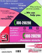 G 1995 497 C&C 4094 SCHEDA TELEFONICA USATA POSSIAMO AIUTARLA LATO A ROSA