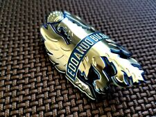 Vintage BIANCHI road mountain bicycle frame head badge GOLD cyclocross