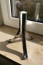NEU 4 x Bretz Fuss ''Lilie'' Aluminium Silber (teil-)poliert