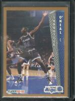 Shaquille O'Neal 1992 Fleer Rookie RC Card #401 Magic