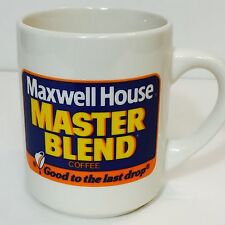 Vintage Maxwell House Master Blend Coffee Good To The Last Drop Coffee Mug