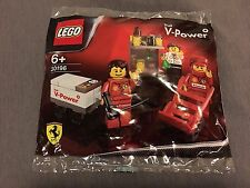 Lego 30196 Shell Ferrari Pit Crew Collection 2012 NEW