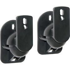 Crest SPEAKER BRACKETS 2Pcs Tilt & Swivel Function, Holds Up To 7Kg *Aust Brand