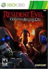 Resident Evil: Operation Raccoon City (Microsoft Xbox 360, 2012) *NO MANUAL*