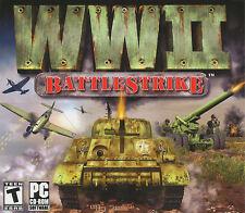 WWII BATTLE STRIKE BattleStrike WW2 Shooter PC Game NEW