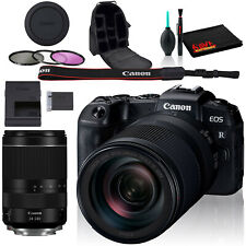 Canon EOS RP Mirrorless Digital Camera +24-240mm Lens, Backpack Case, Cleaning K