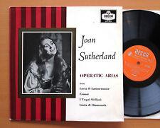 LXT 5531 Joan Sutherland Operatic Arias Nello Santi 1959 Decca Mono NM/EX