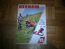 Prospekt Reform Motormäher 206