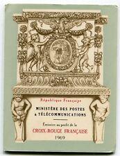 CARNET N° 2018 **  FRANCE CROIX ROUGE 1969