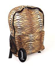 Mochila Bolsa de Viaje para Mujer Damas Chicas Mochila Escolar Bolsa Tiger