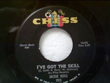 "JACKIE ROSS ""I'VE GOT THE SKILL / CHANGE YOUR WAYS"" 45 MINT UNPLAYED"