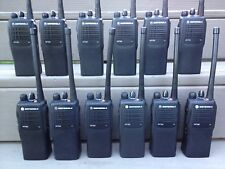 (30) MOTOROLA HT750 RADIOS VHF 136-174MHz 16ch AAH25KDC9AA3AN w/ Batt charger CP