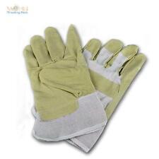 1 Par Cuero artificial Guantes de trabajo Protección laboral Tamaño 10,5 XL piel