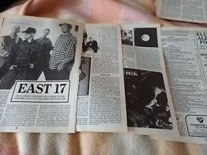 EAST 17 - 1995 magazine article / photos / discography