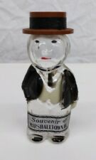1939 Gentleman Souvenir Figural 5 & Dime Store Perfume Bottle - Marshalltown IA