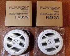"MARINE SPEAKERS 5"" WHITE 30W 4 OHMS FURRION FMS5W (PAIR) RV MOTORHOME Outdoor"