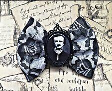 Edgar Allan Poe Hair Bow