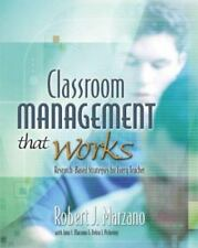 Classroom Management That Works: Research-Based Strategies for Every Teacher, Pi