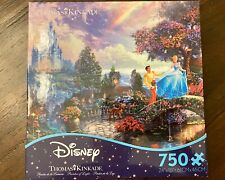 Thomas Kinkade Disney Ceaco 750 Piece Jigsaw Puzzle Cinderella NEW Sealed