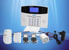 Kabellos GSM LCD Alarm Systems Alarmsystem Funk Alarmanlage Sicherheitssystem