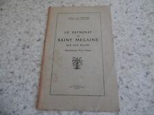 1935.Patronat Saint Melaine sur son église.Rennes.Léon Le Berre