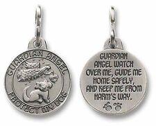 Guardian Angel Dog Pet Medal (JS502)  NEW Pewter