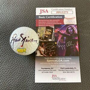 JACK NICKLAUS Signed Master's Golf Ball Autographed Auto + JSA COA