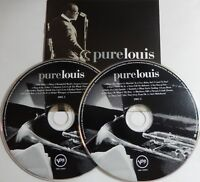 Louis Armstrong - Pure Louis (CD 2001, 2 Discs, Verve) 28 Songs - Near MINT