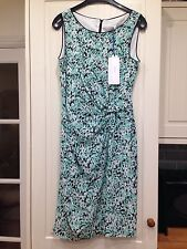 Fenn Wright Manson Stunning Silk Green Dress 10 BNWT RRP £169