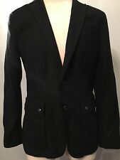 John Varvatos Mens Navy Blue Wool Blend Slim Blazer SportsCoat Size 40 NWT $498