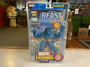 2004 ToyBiz Marvel Legends Series Series IV BEAST Action Figure MOC