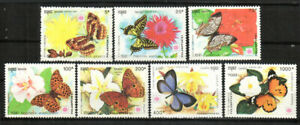 Cambodia Stamp - Butterflies and Flowers Stamp - NH