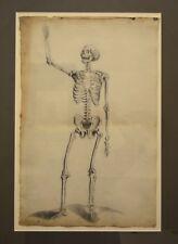 """Ecole Française 1790 """"Série de six dessins anatomiques"""" Auzoux Médecine Anatomie"""