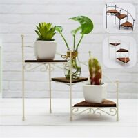 Staircase Style Candlestick Display Plant Stand Storage Rack Tabletop Home